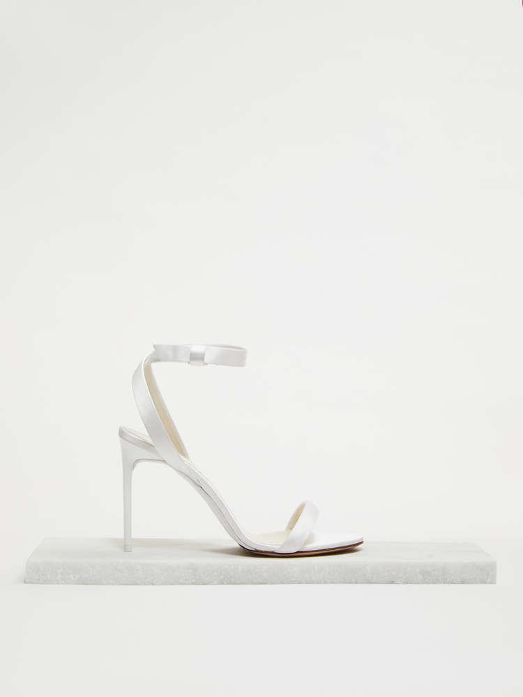 Sandalo in raso di seta