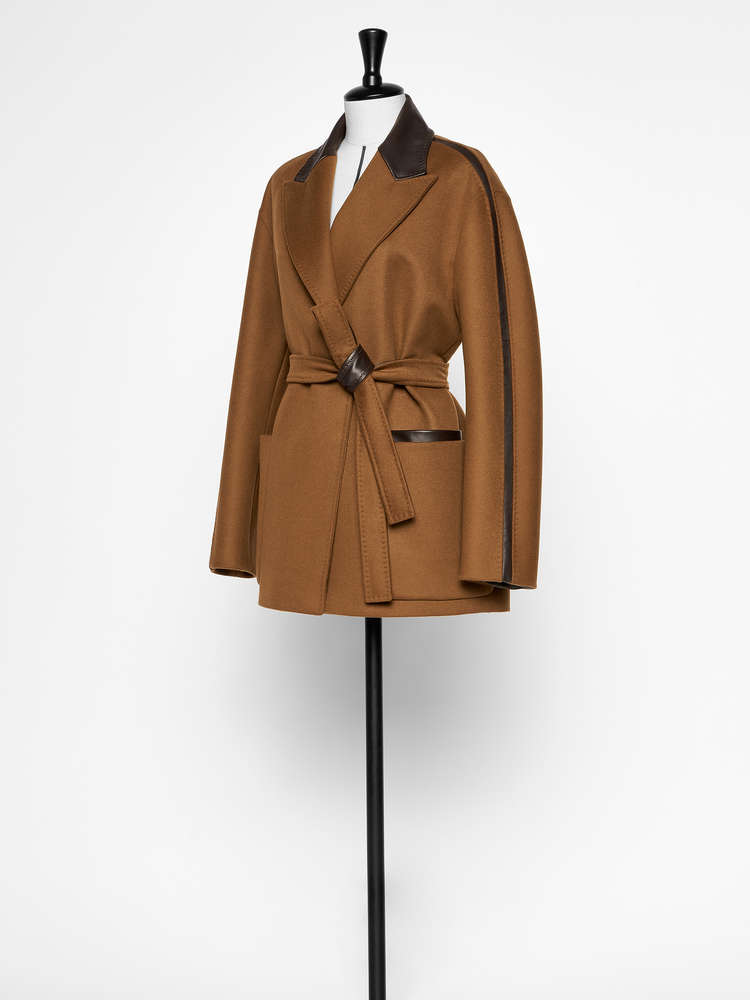 Wool and cashmere jacket