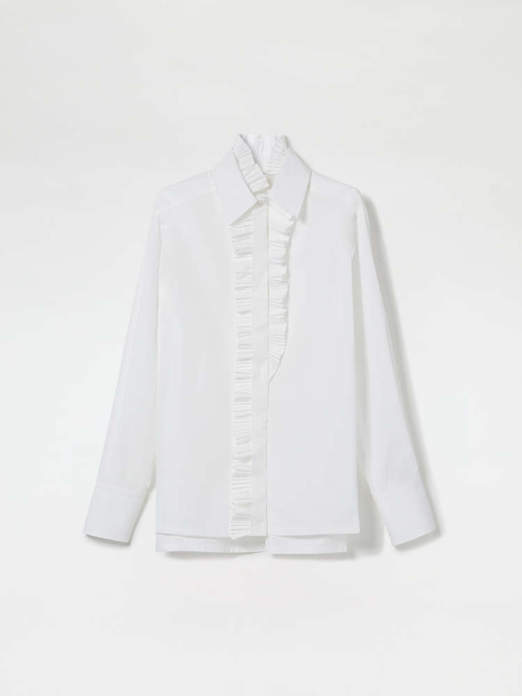 Asymmetric Pleated Shirt