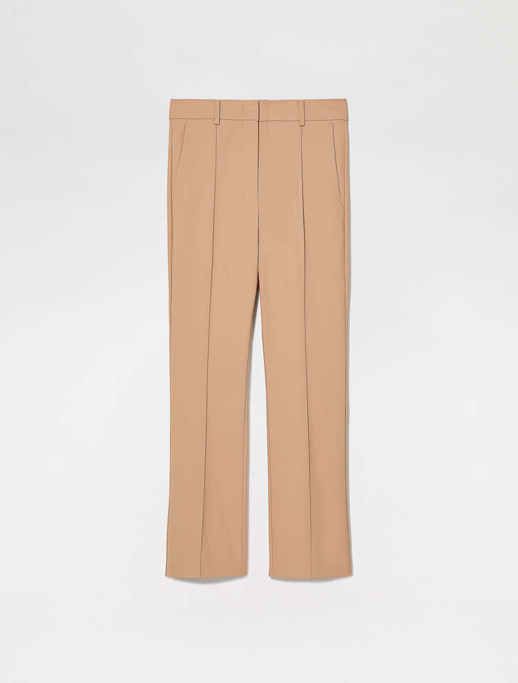 Tailored Trumpet Flare Trousers