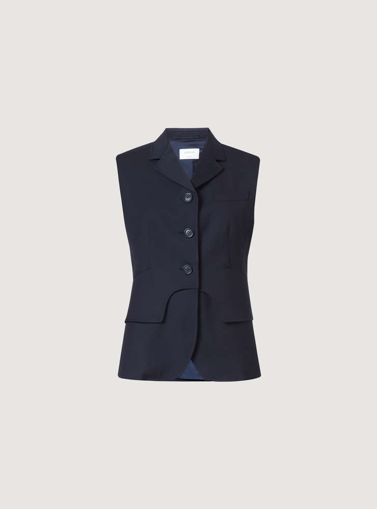 Tailored Wool Gilet