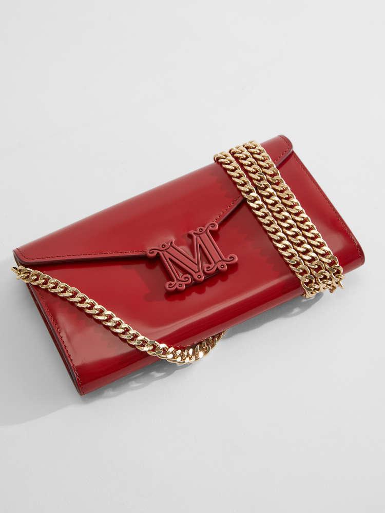 Polished leather wallet
