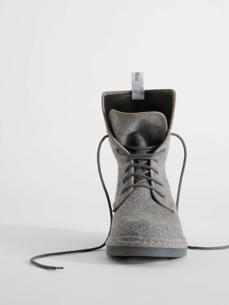 Boots en cachemire