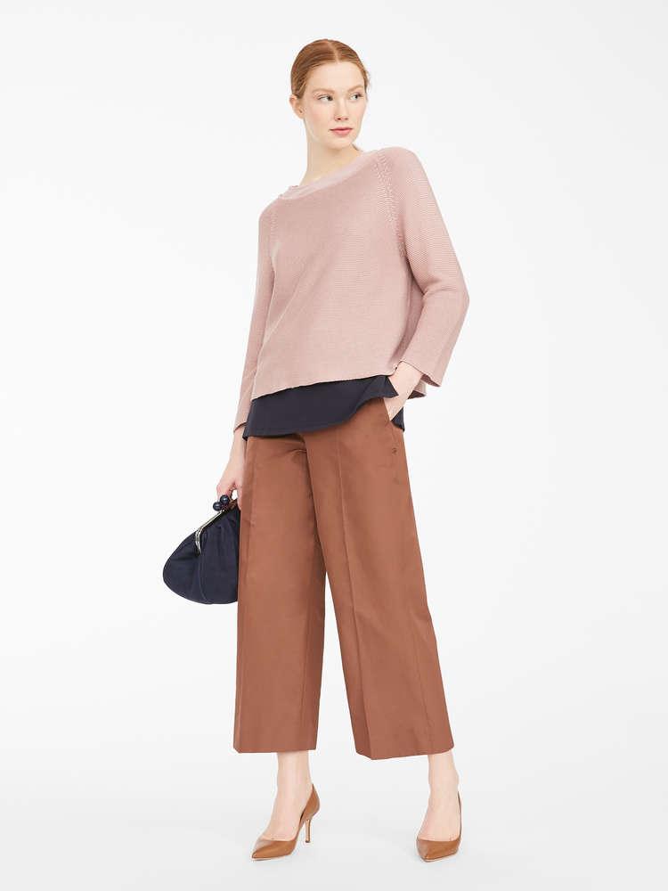 Cotton cordelet jumper