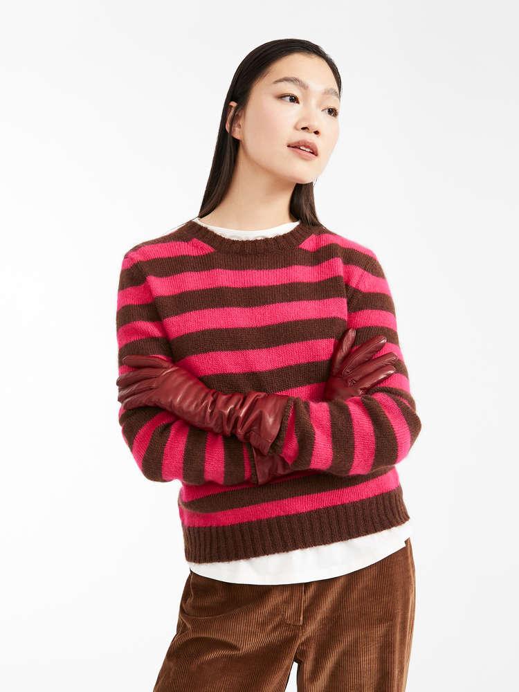 Mohair yarn jumper