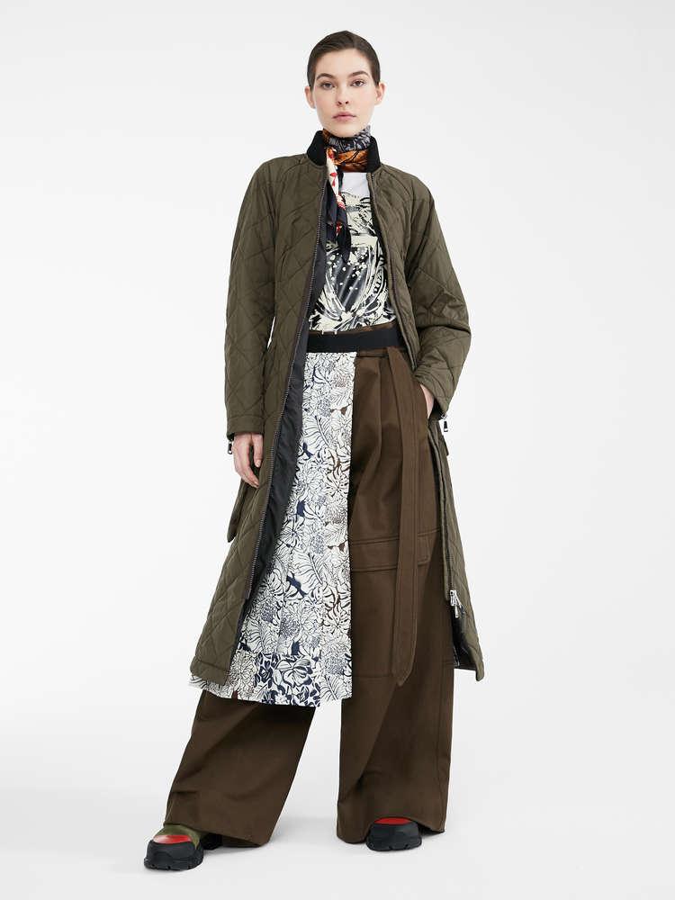Re-Find water-repellent gabardine coat
