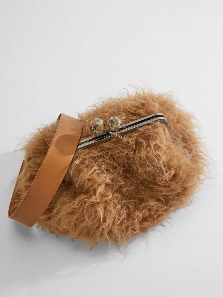 Medium faux fur Pasticcino Bag
