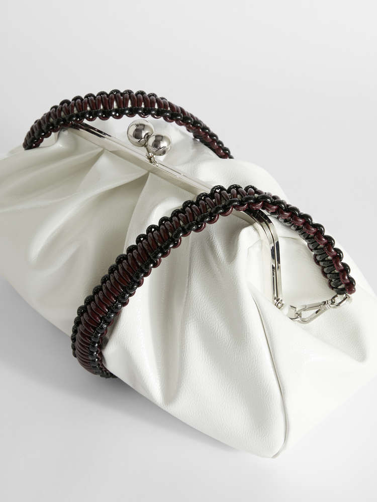 Large patent leather Pasticcino Bag
