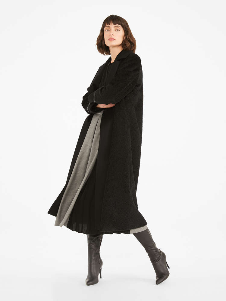Wool flannel dress