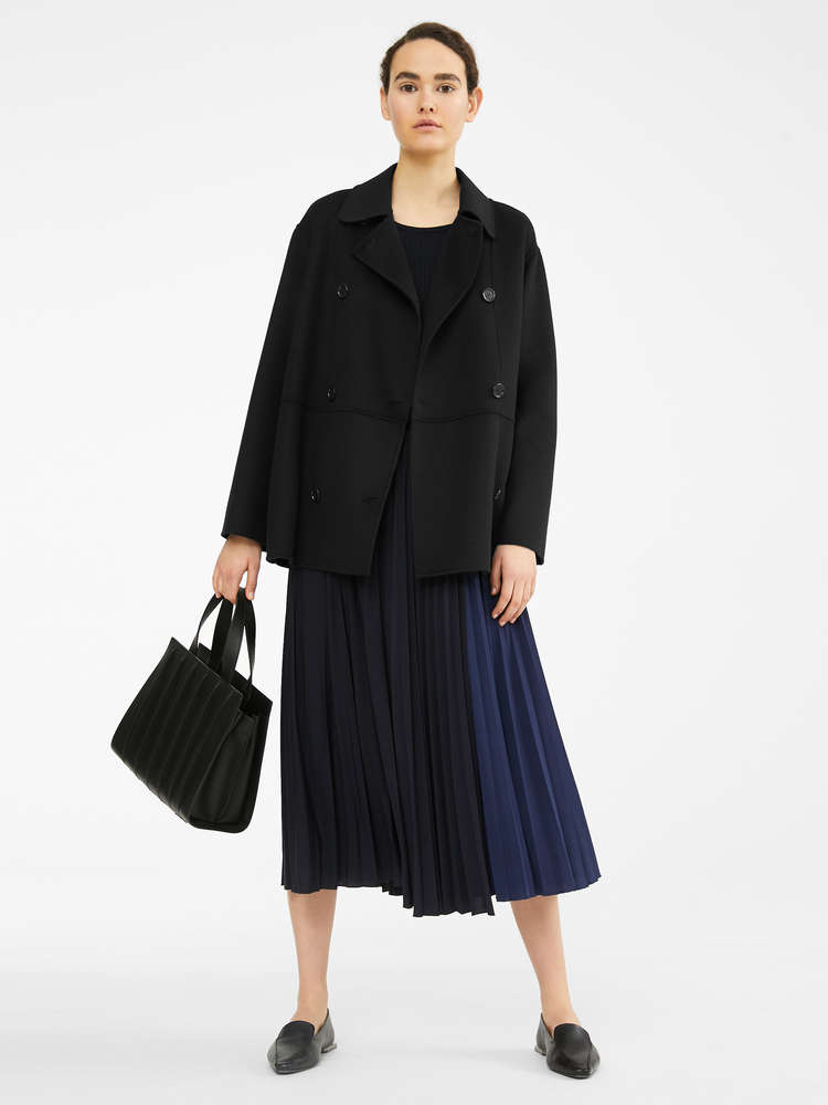 Jersey crepe skirt
