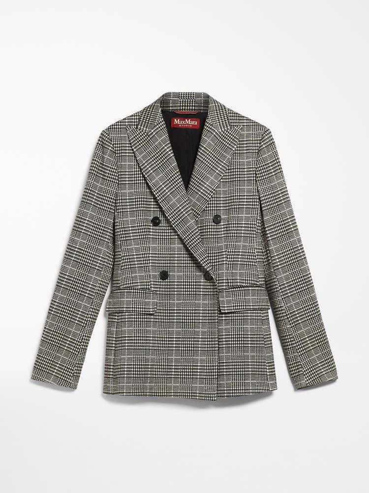 Jacquard jersey blazer