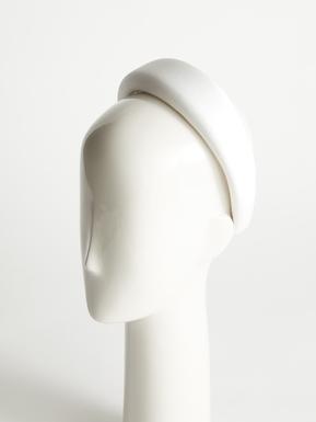 Envers satin crepe headband