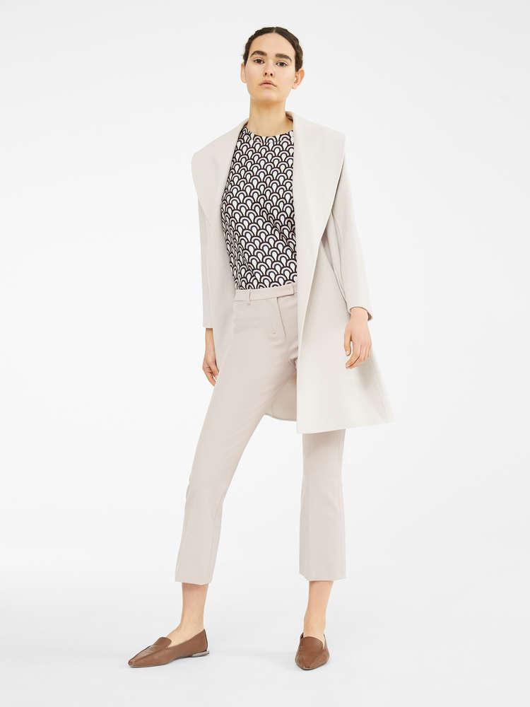 Tech cotton trousers