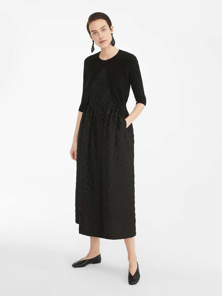Viscose yarn cardigan