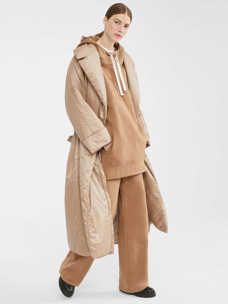 Water-resistant padded coat