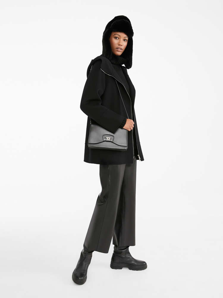 Coated fabric trousers