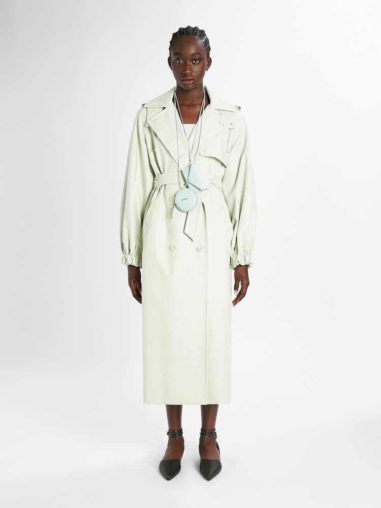 Cotton twill skirt