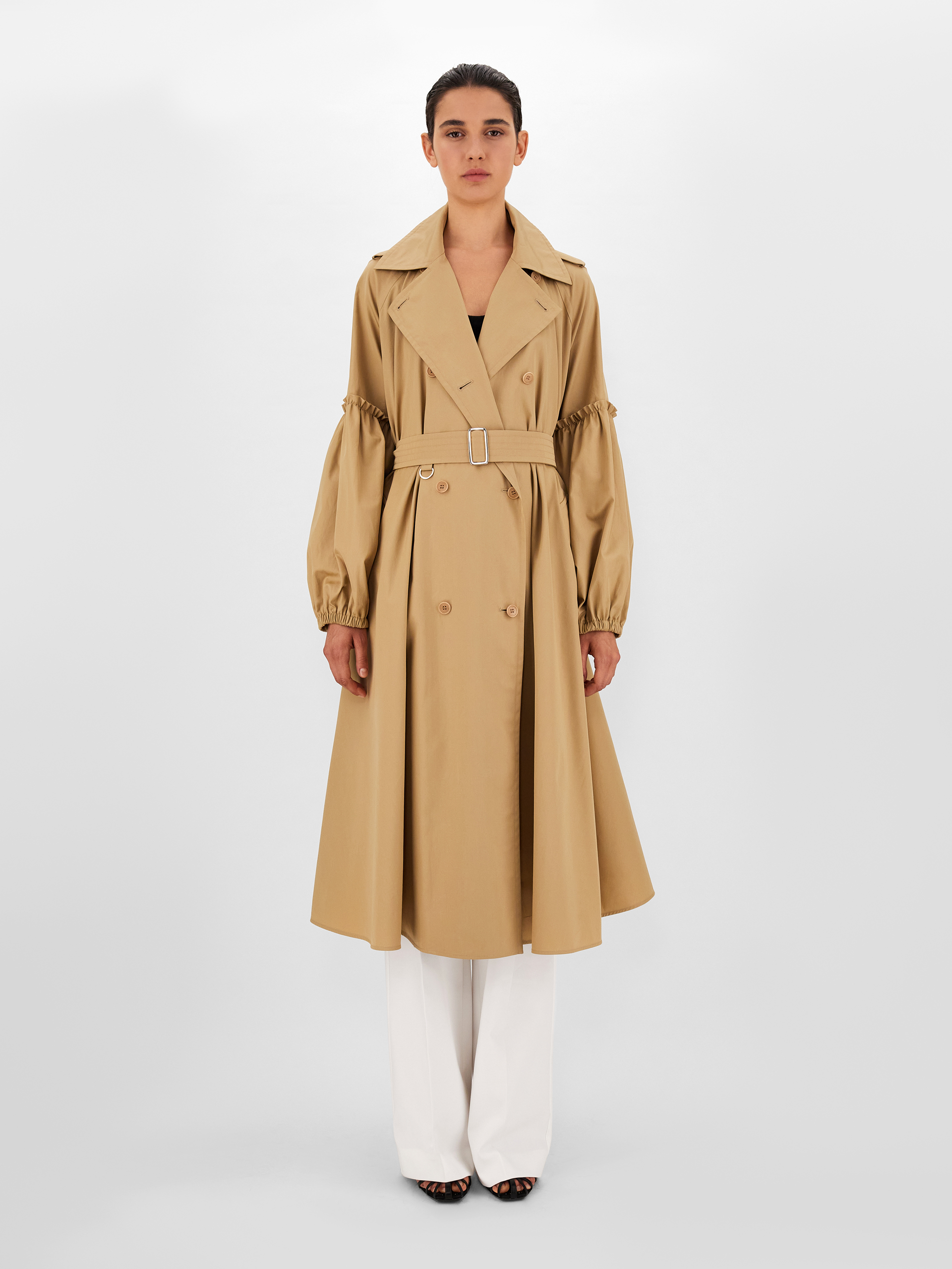 Trench in cotone