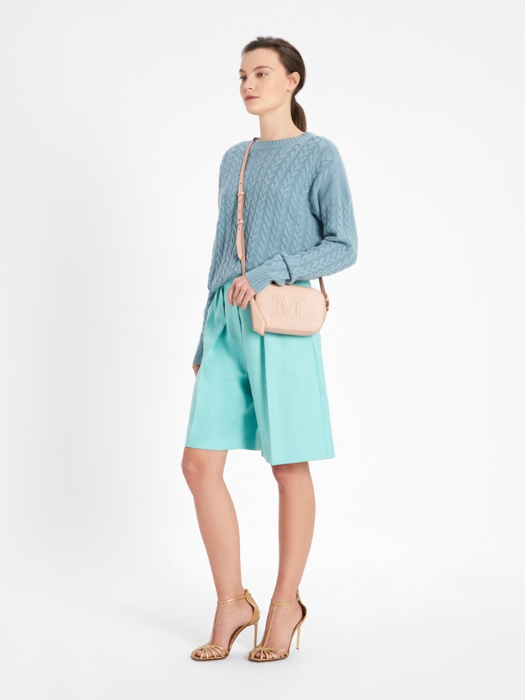 Wool and cashmere yarn jumper