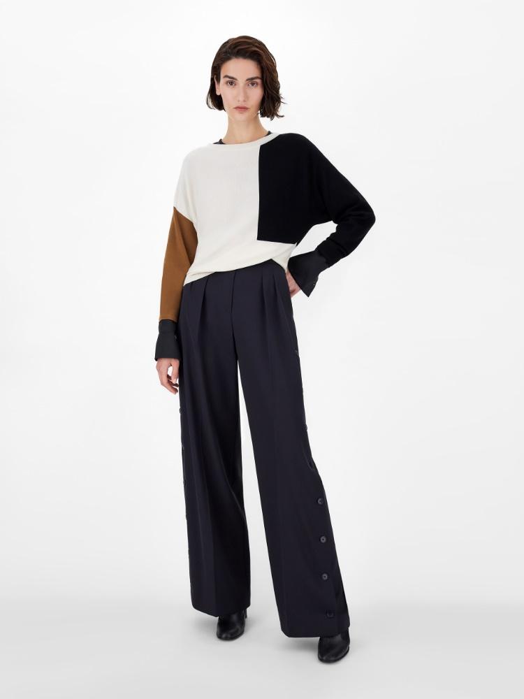 Pure wool yarn jumper