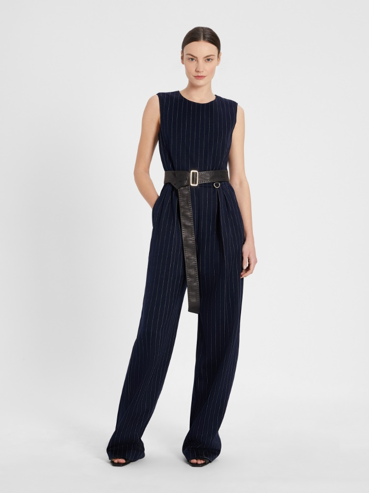 Cotton and viscose jersey jumpsuit