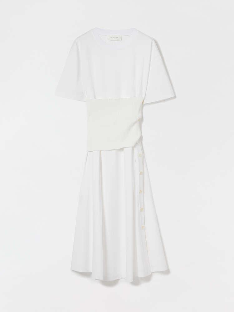 Cotton and modal interlock dress