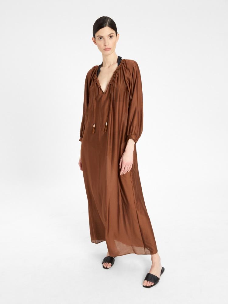 Silk and modal dress