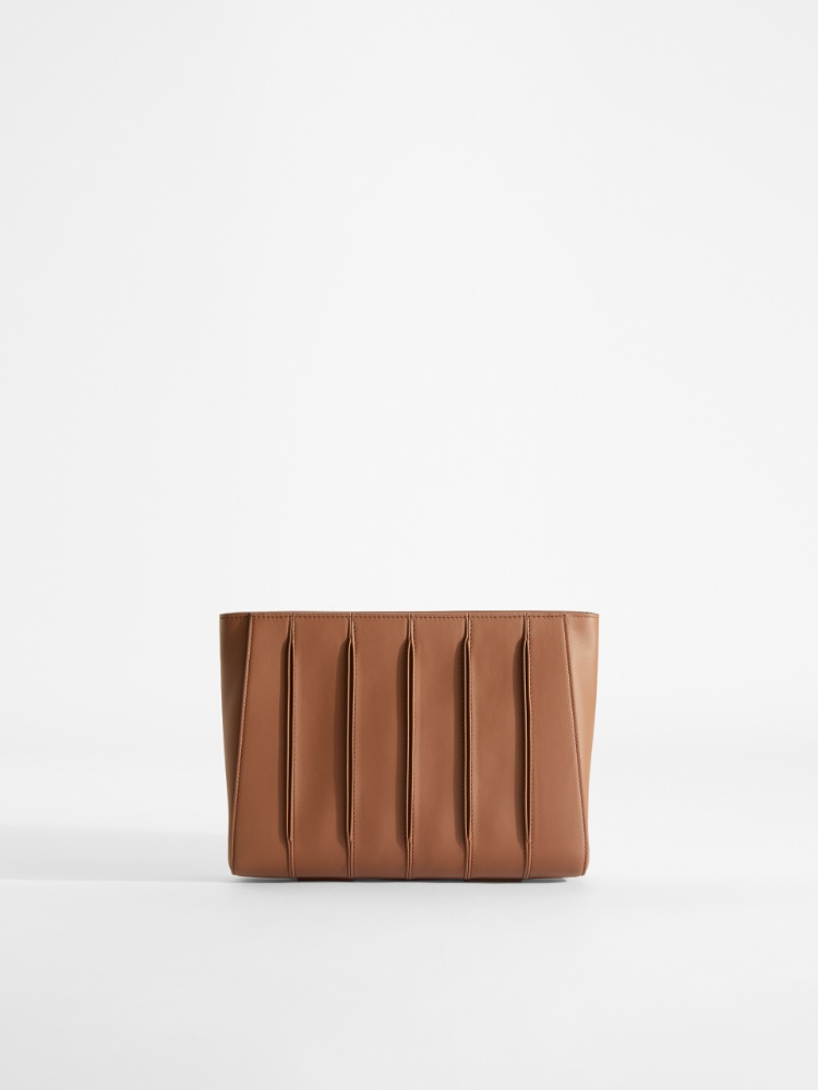 Whitney Bag Clutch in smooth leather