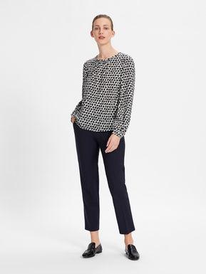 Silk crepe de chine blouse