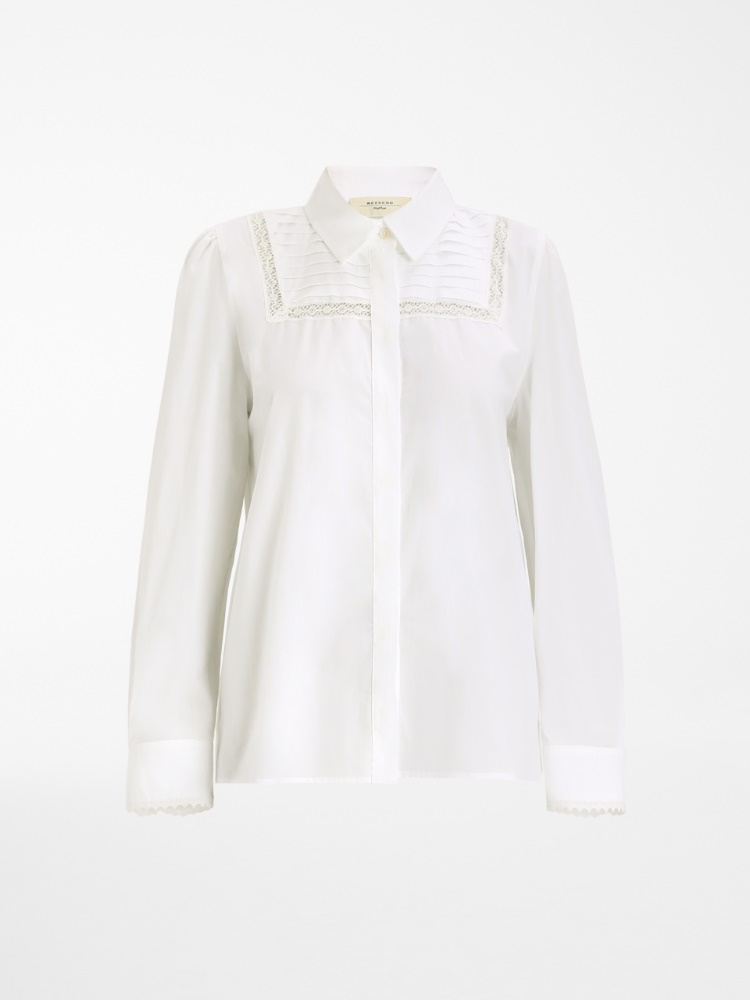 Cotton muslin shirt