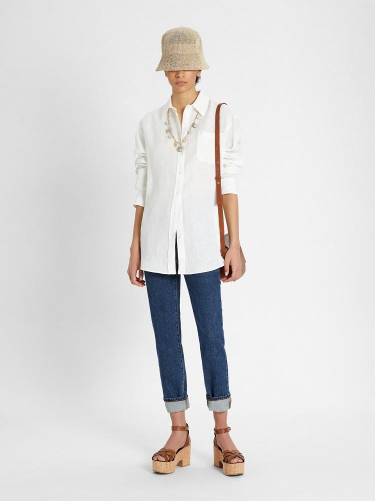 Linen fabric shirt