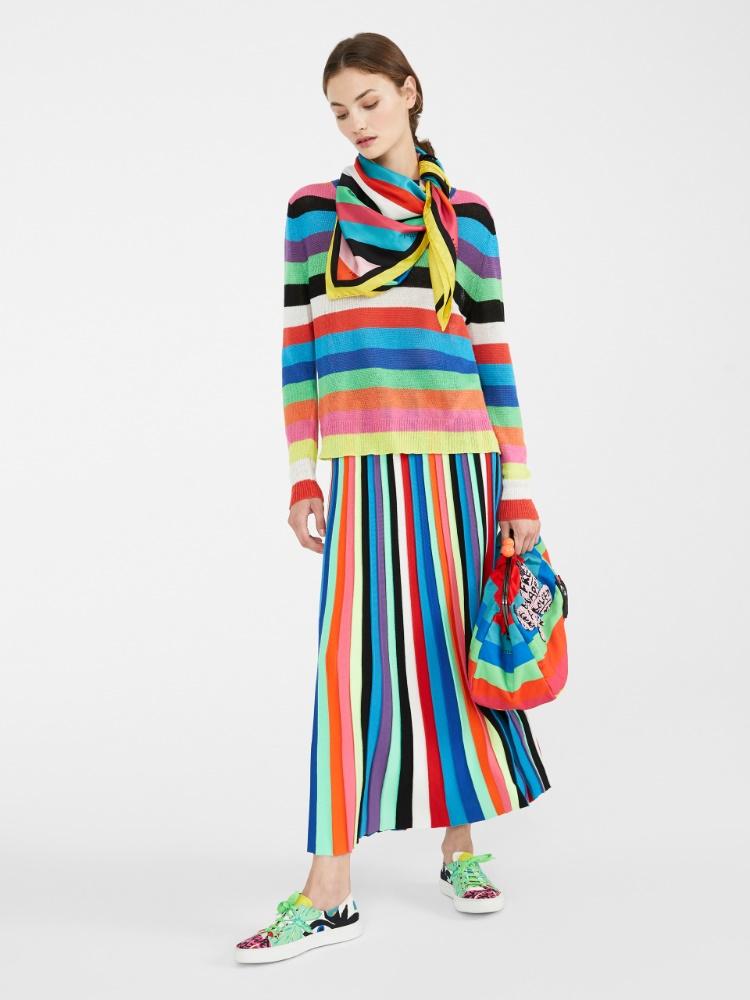 Flutterflies knit skirt