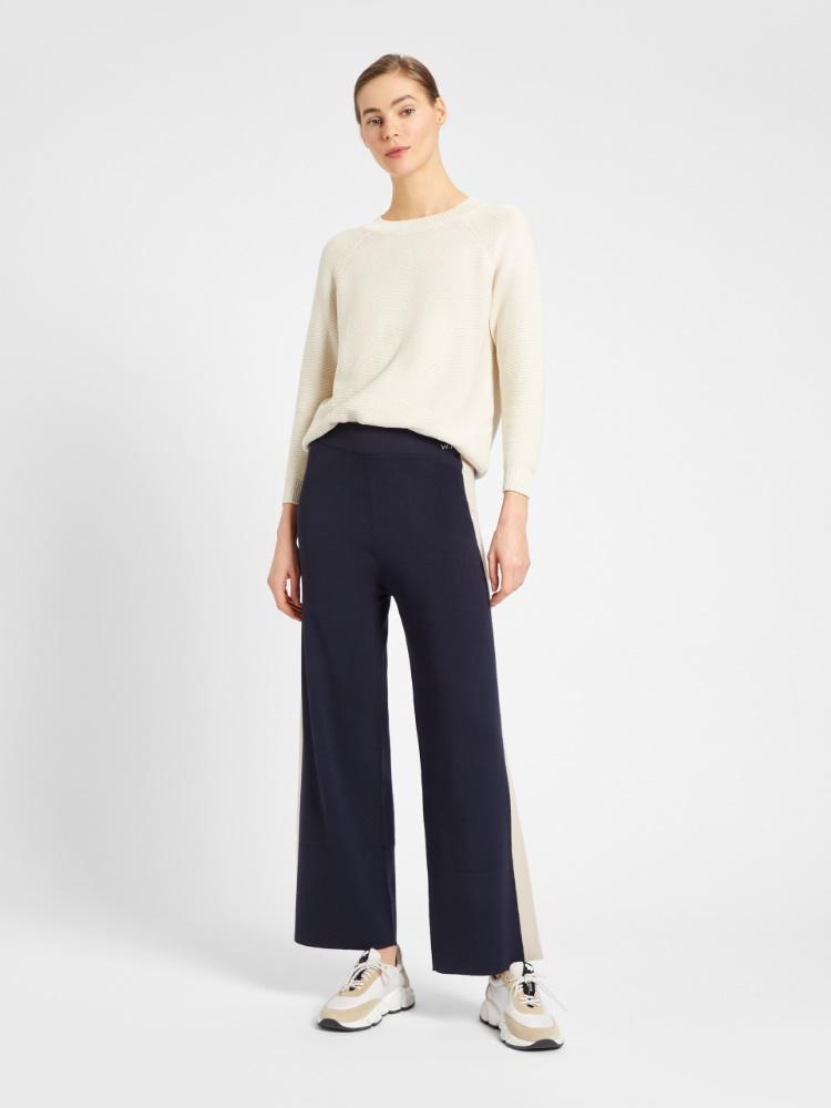 Viscose yarn trousers