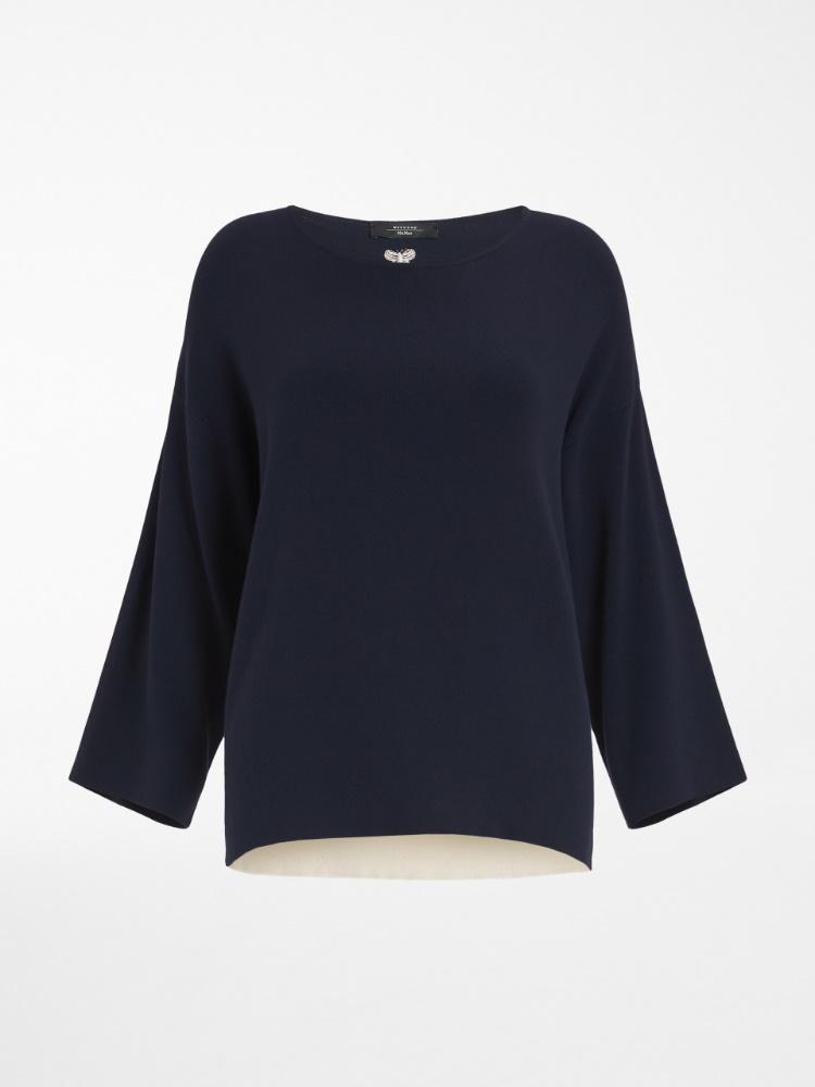 Viscose yarn sweater
