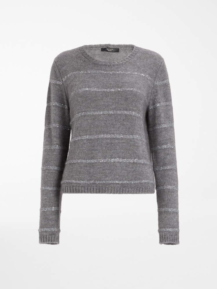 Mohair yarn sweater