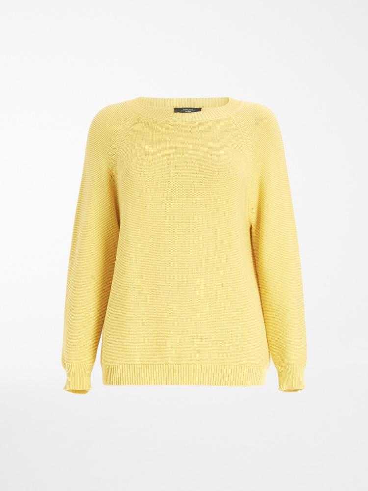 Cotton cordonnet sweater