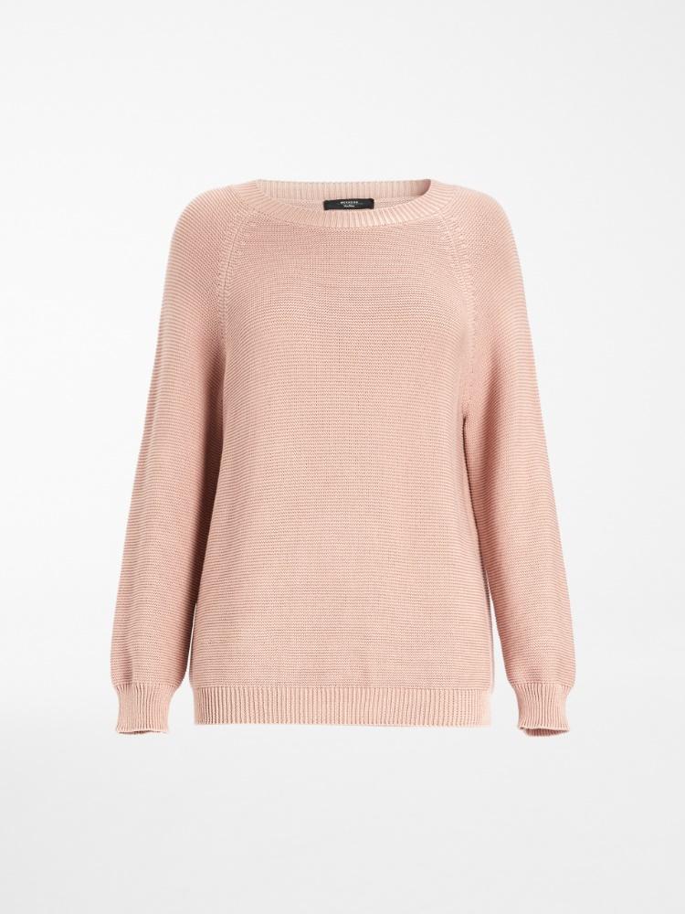 Pullover aus Baumwollzwirngarn