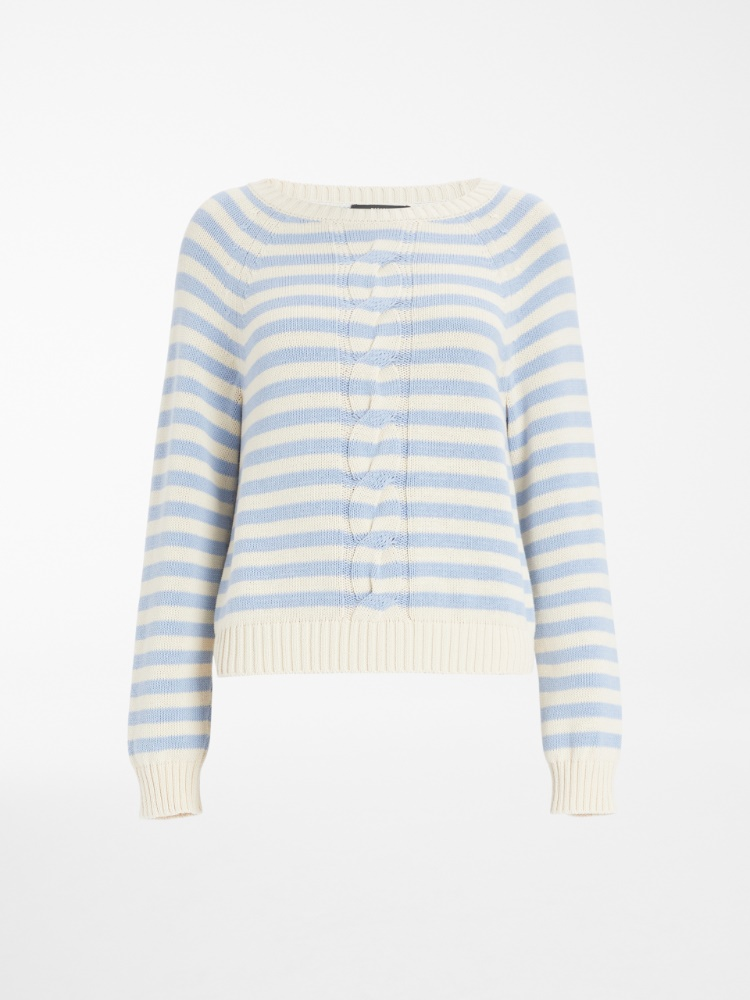 Cotton yarn sweater