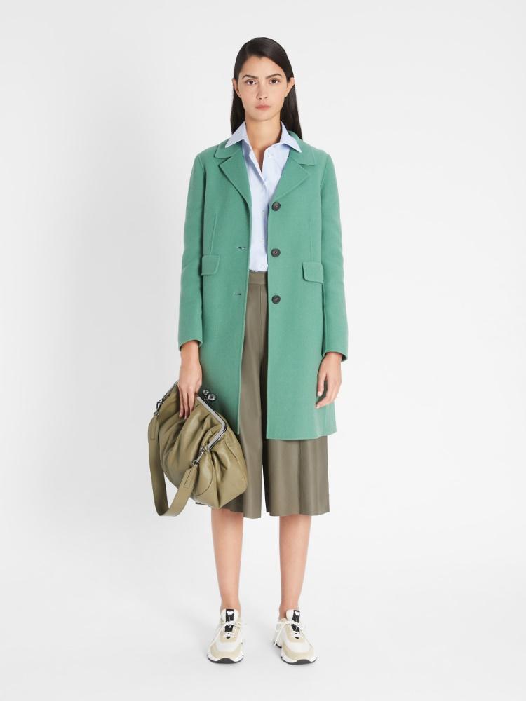 Nappa leather culottes