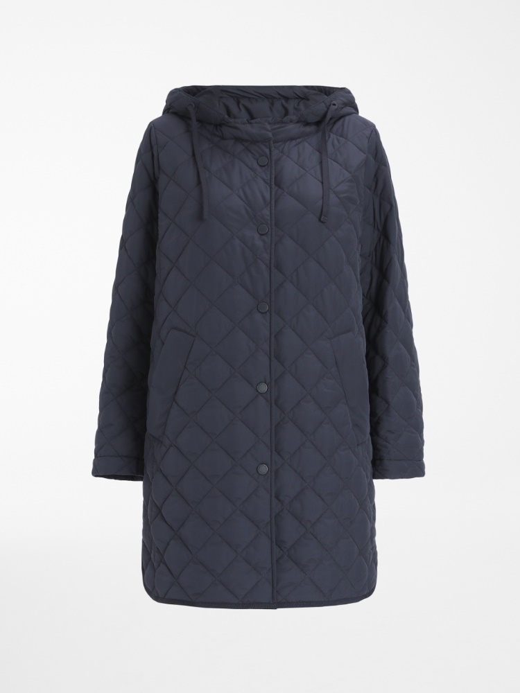 Water-repellent technical fabric down jacket