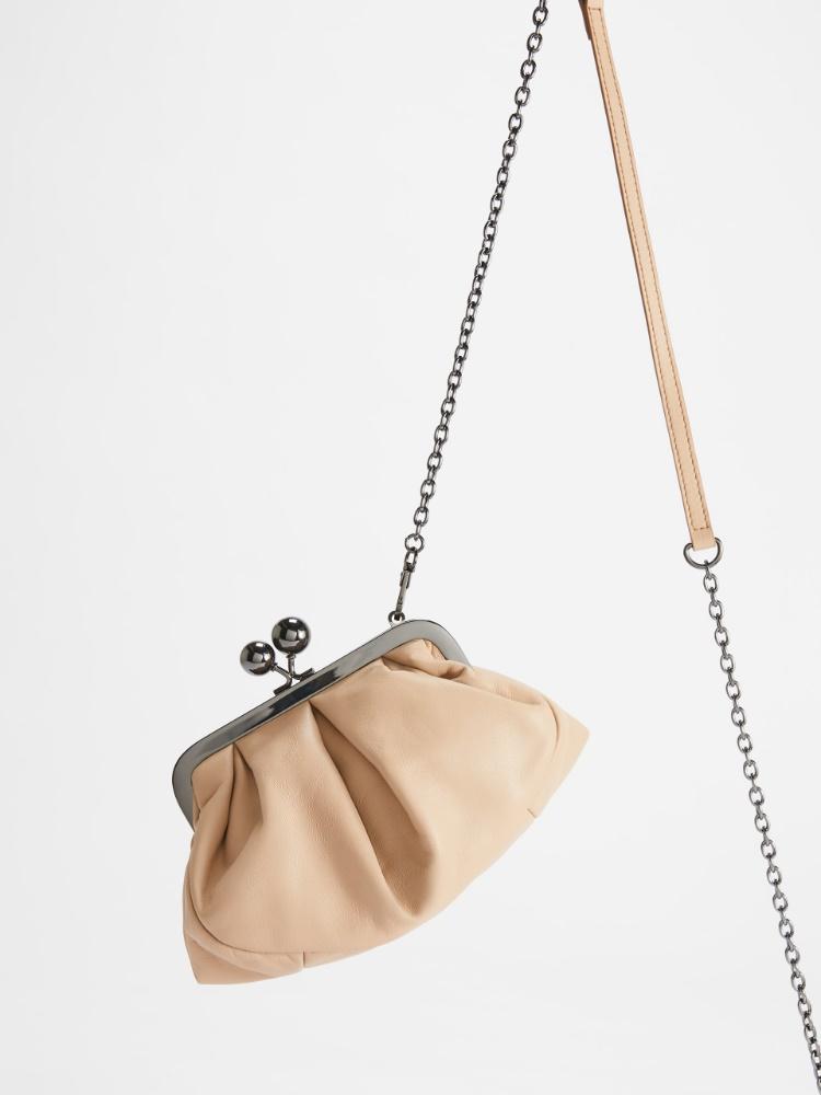 Small nappa leather Pasticcino Bag