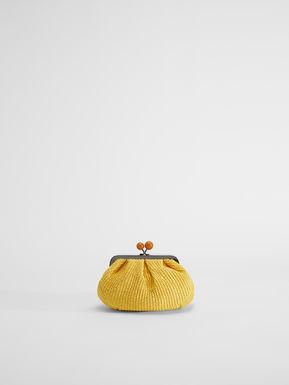 Small raffia Pasticcino Bag