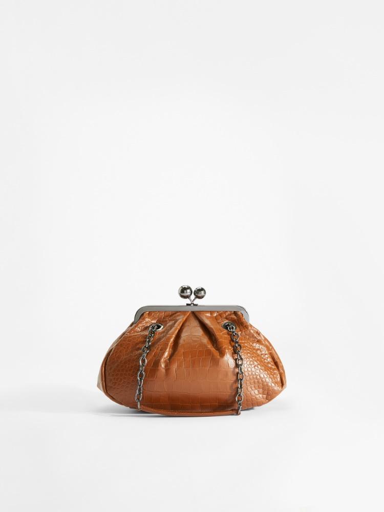 Pasticcino Bag en cuir imprimé croco