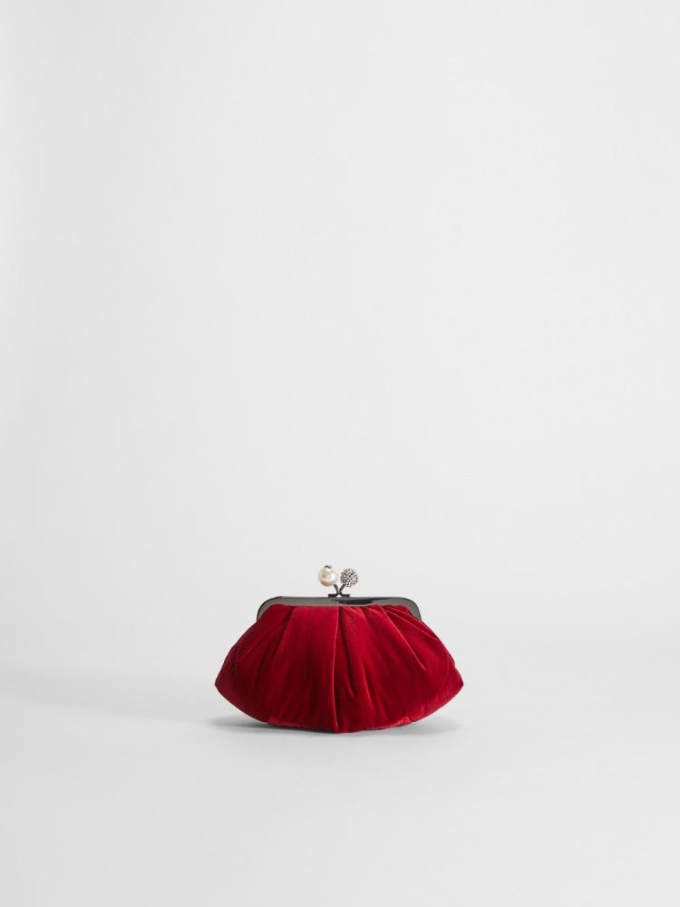 Small velvet Pasticcino Bag