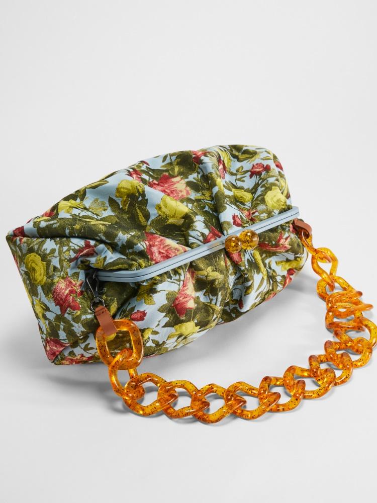 Pasticcino Bag grande en tejido brocado de jacquard