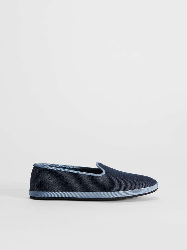 Loafer in denim