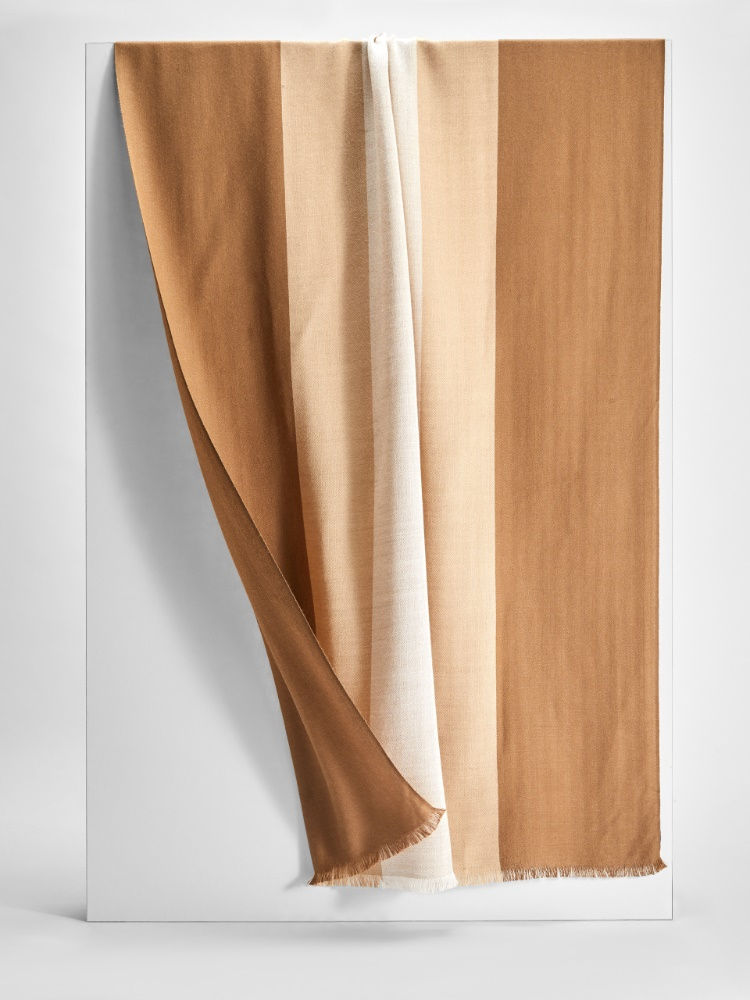 Wool and silk stole