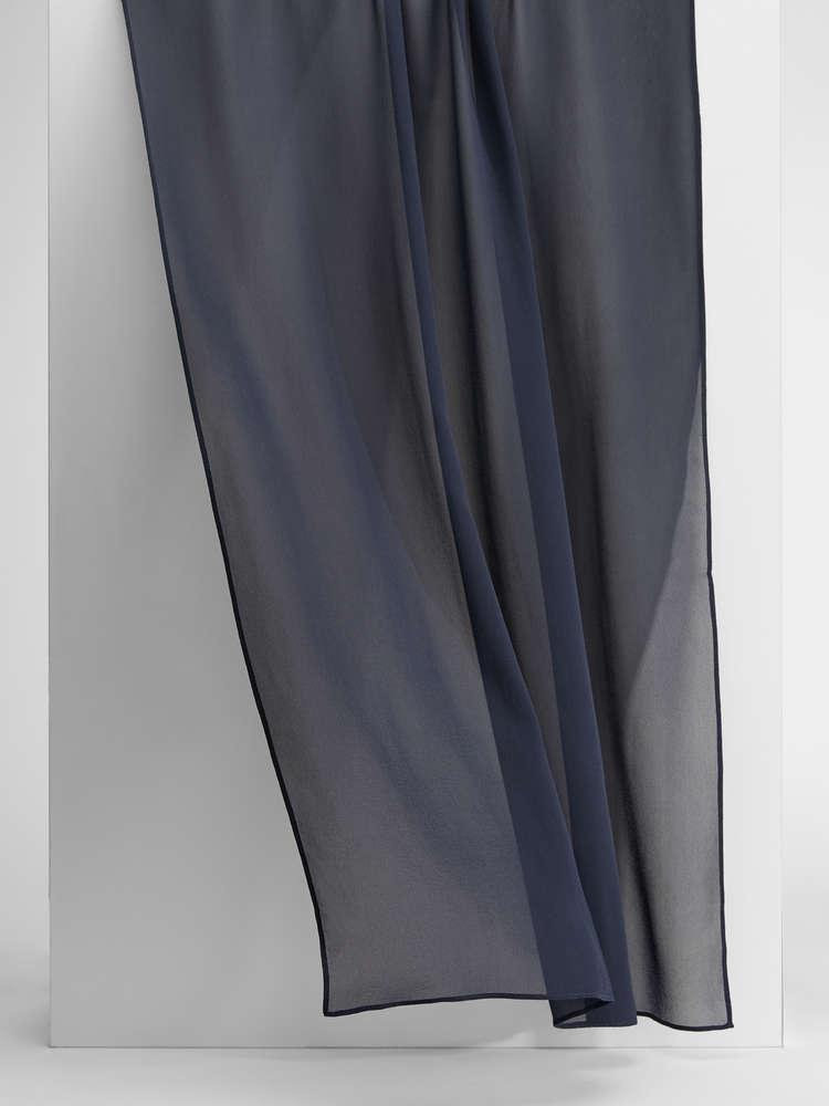 Pure silk georgette foulard
