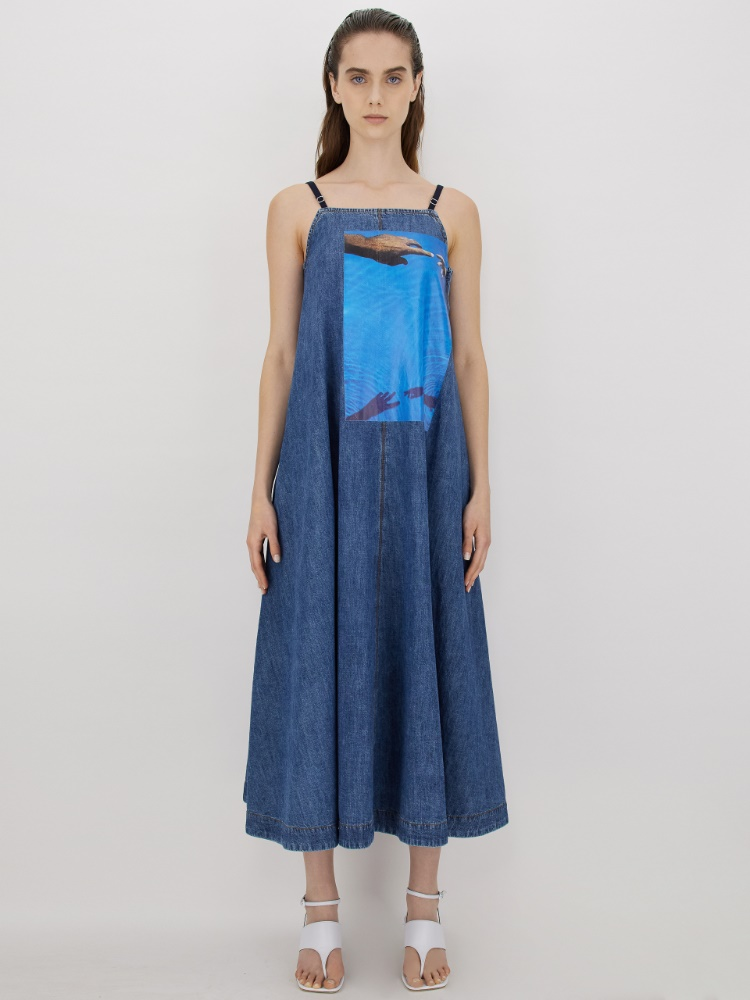 Vestido de denim