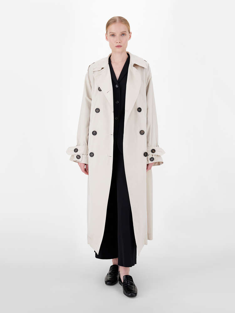 Linen and viscose jacket